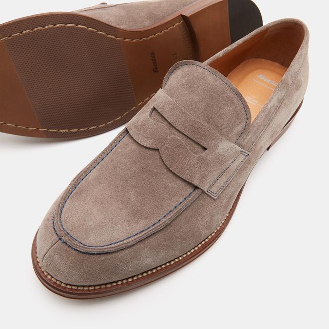 Chaussures Homme bata, Beige, 813-2118 - 17