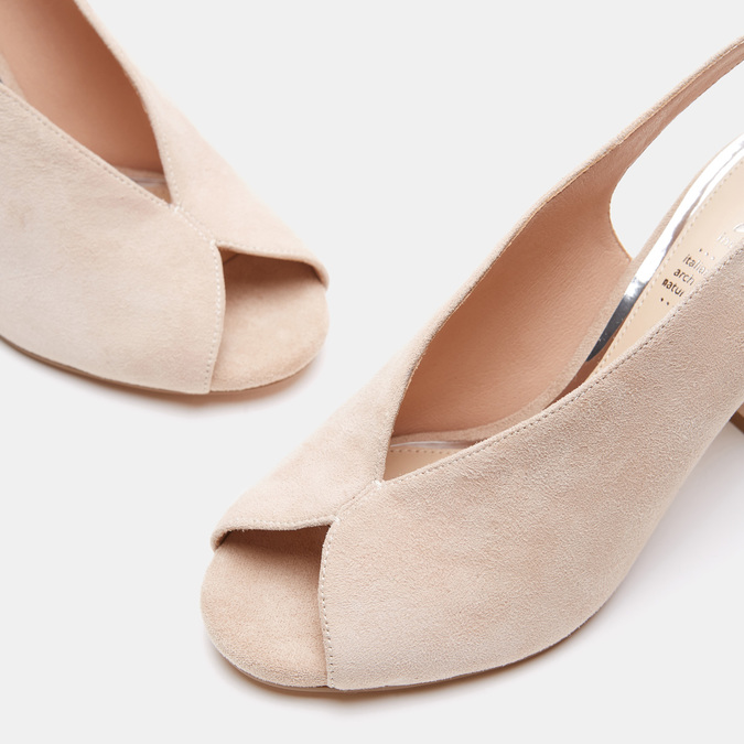 Chaussures Femme insolia, Beige, 763-8394 - 16
