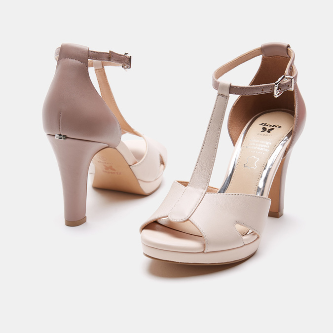 Chaussures Femme insolia, Rose, 764-5413 - 19