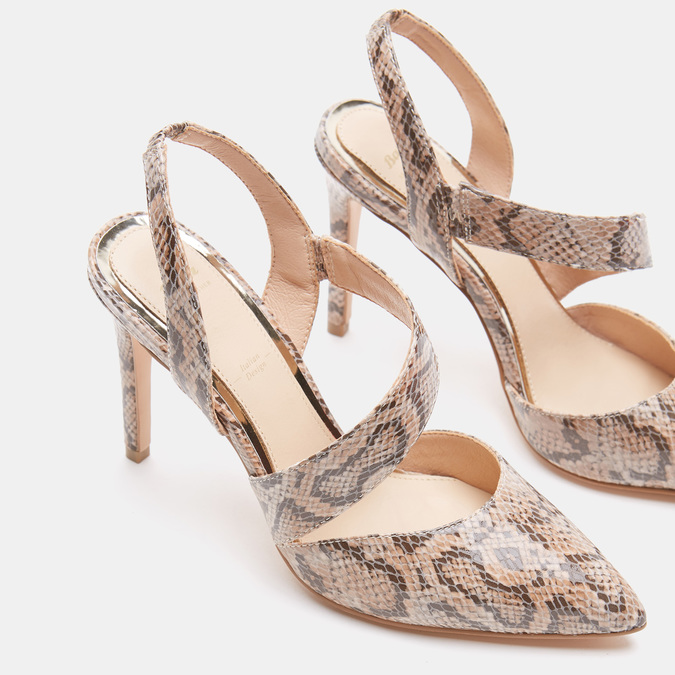 Chaussures Femme bata, Beige, 721-5351 - 15