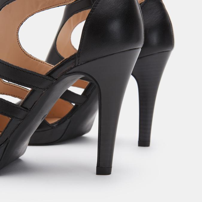 Chaussures Femme bata, Noir, 764-6391 - 17