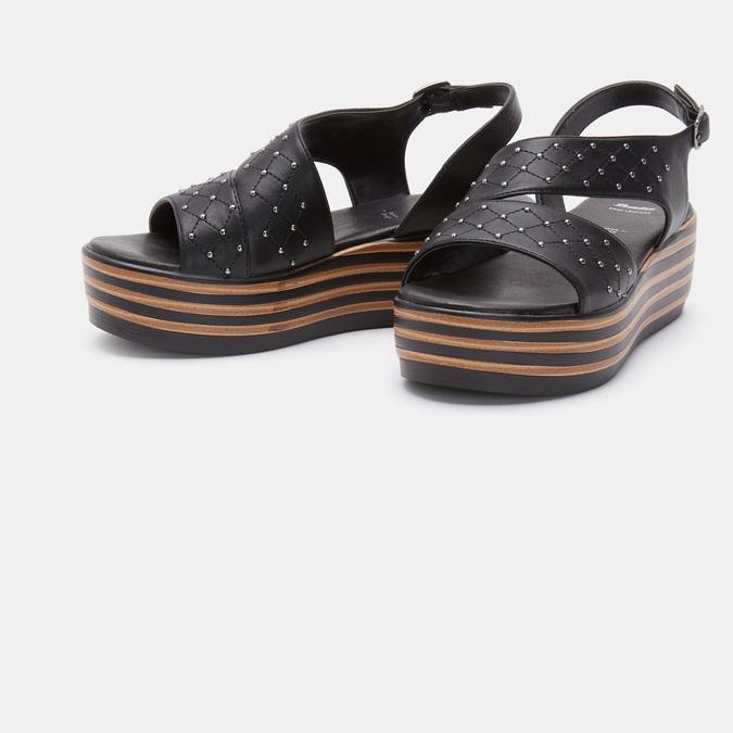 Chaussures Femme bata, Noir, 761-6761 - 16