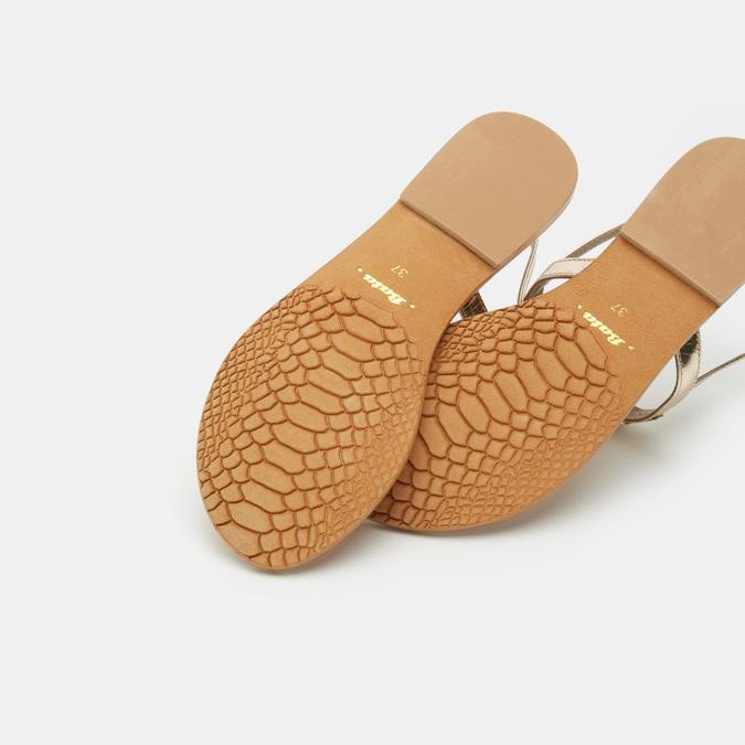Chaussures Femme bata, Or, 564-8711 - 15
