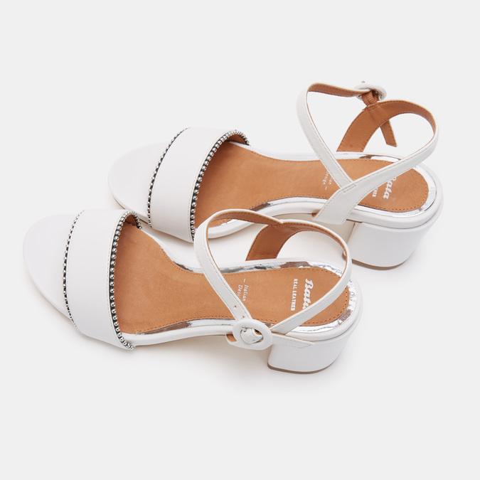 Chaussures Femme bata, Blanc, 661-1212 - 17
