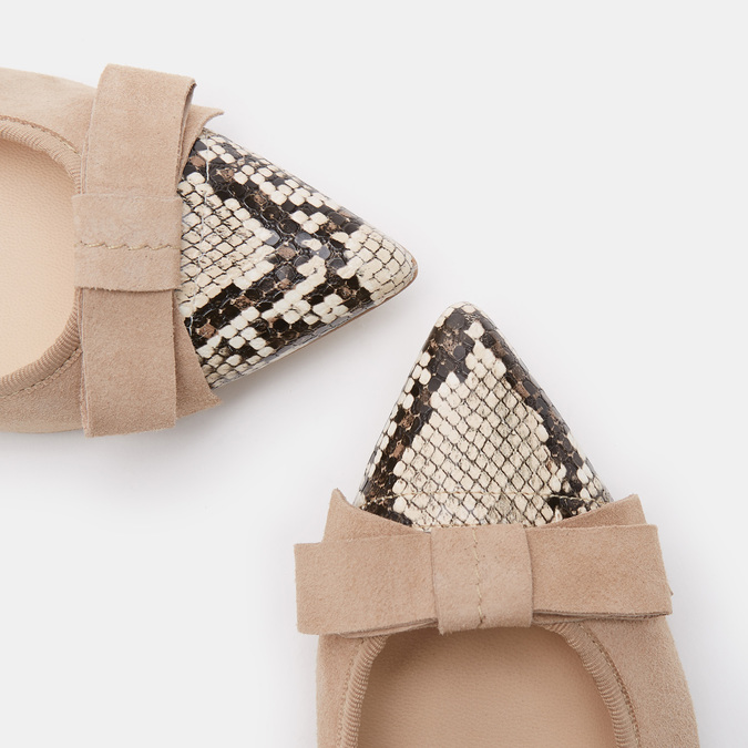 Chaussures Femme bata, Beige, 523-8381 - 17
