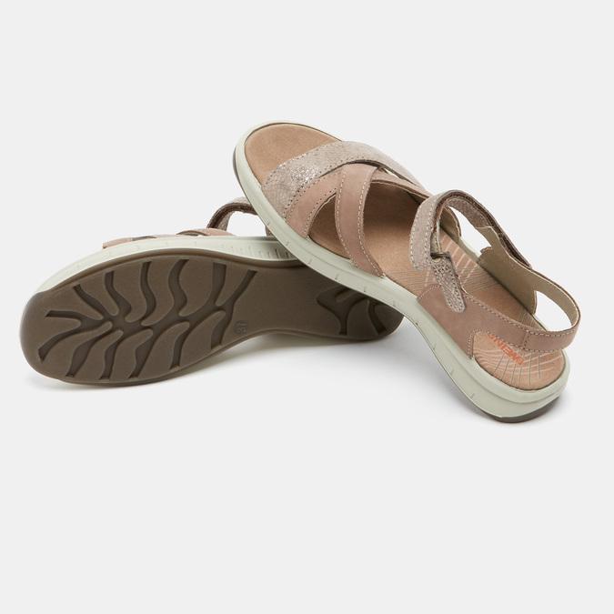 Chaussures Femme weinbrenner, Or, 566-8724 - 17