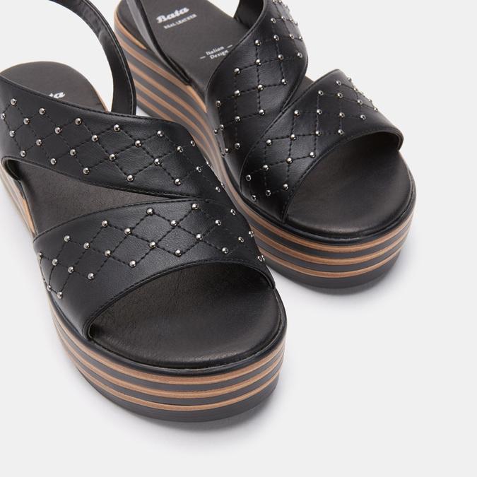 Chaussures Femme bata, Noir, 761-6761 - 17