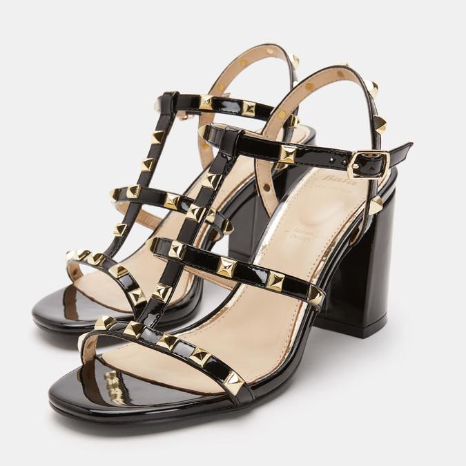 Chaussures Femme bata, Noir, 761-6439 - 19