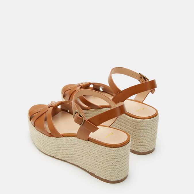 Chaussures Femme bata, Brun, 761-3782 - 17