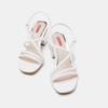 Chaussures Femme bata-rl, Blanc, 761-1482 - 16