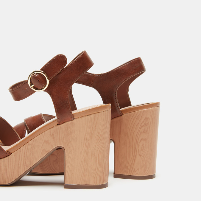 Chaussures Femme bata-rl, Brun, 761-3496 - 15