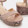 Chaussures Femme bata, Beige, 763-8749 - 16