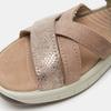 Chaussures Femme weinbrenner, Or, 566-8724 - 16