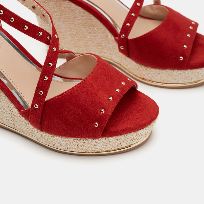 Chaussures Femme bata, Rouge, 769-5775 - 26