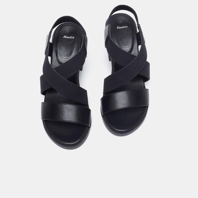 Chaussures Femme bata, Noir, 769-6768 - 15