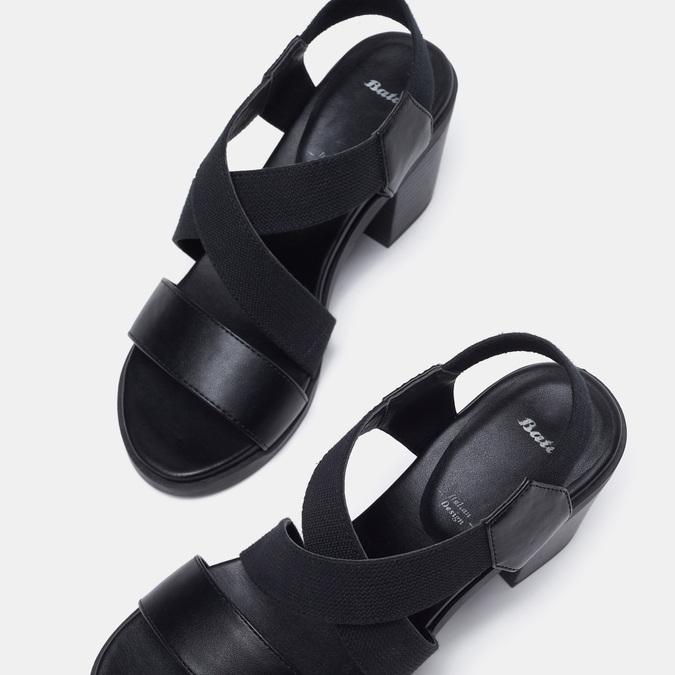 Chaussures Femme bata, Noir, 769-6768 - 19