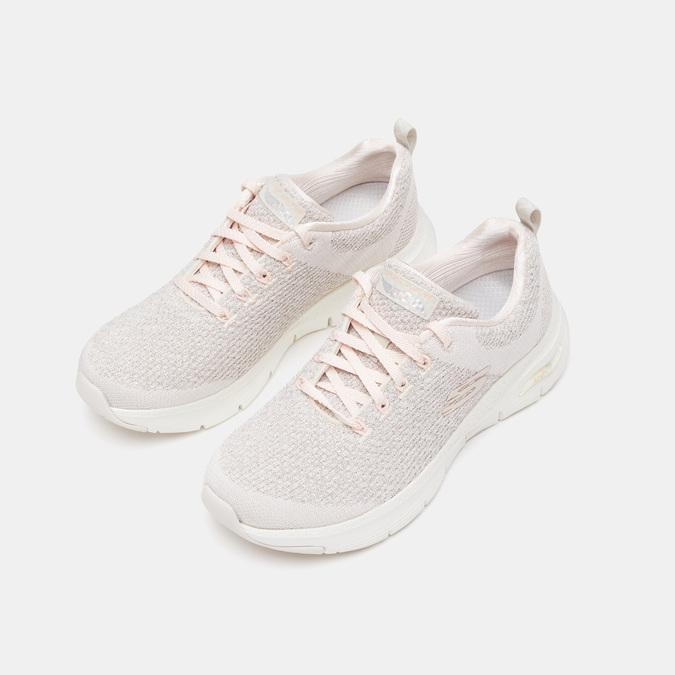 Chaussures Femme skechers, Blanc, 509-1172 - 15