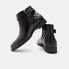 Bottines hautes bata, Noir, 591-6767 - 17
