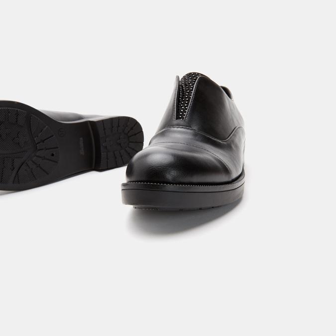 Chaussures Derby sans lacets bata, Noir, 511-6171 - 17