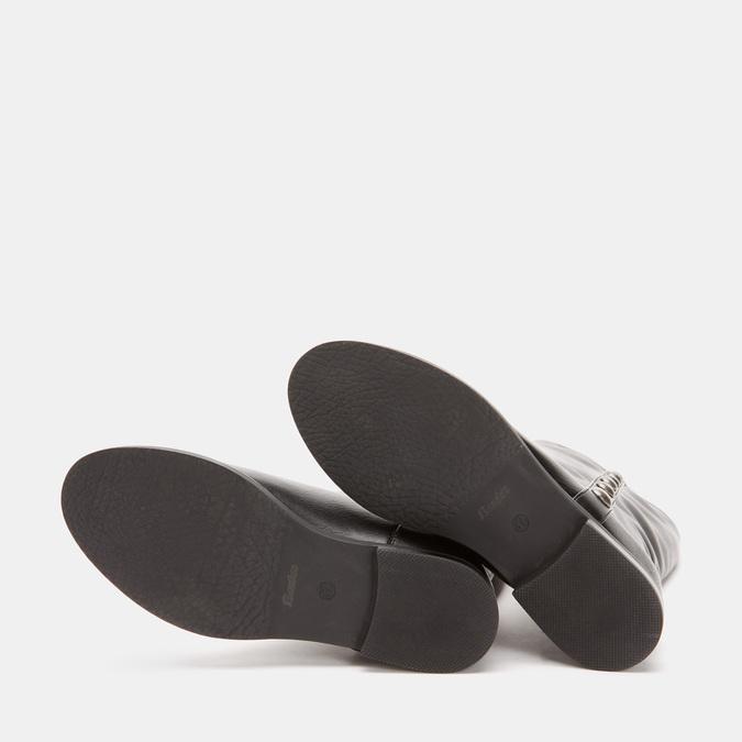 Bottes avec des maxi clous bata, Noir, 591-6108 - 19