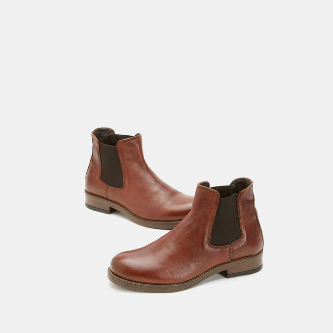 Bottines bata, Brun, 594-4768 - 16