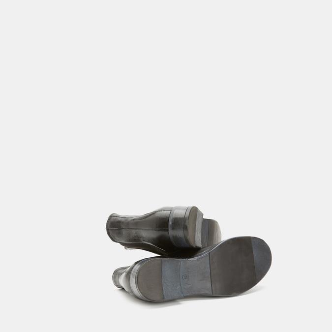 Bottines en cuir Chelsea bata, Noir, 594-6768 - 17
