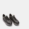 Baskets avec semelle plateforme bata, Noir, 641-6101 - 16
