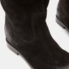 Bottes en suédine bata, Noir, 593-6584 - 26
