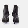 Bottines en pointe de type tronchetto bata, Noir, 791-6298 - 15
