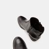 Bottines en cuir de type tronchetto sur talon large bata, Noir, 794-6763 - 17