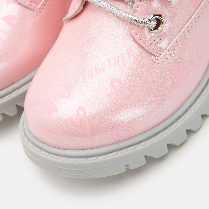 BOTTINES ENFANT mini-b, Rose, 291-5151 - 26
