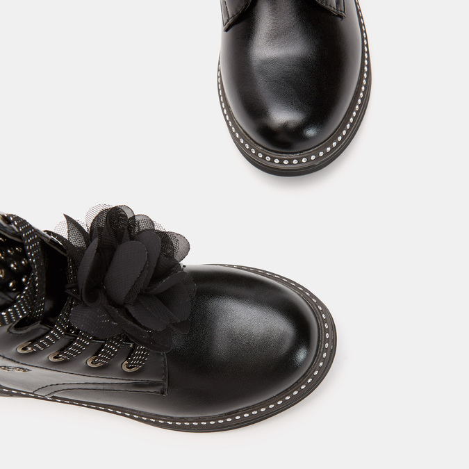 BOTTINES ENFANT mini-b, Noir, 391-6155 - 19