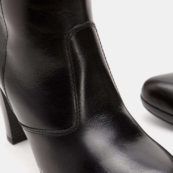 Bottes en cuir bata, Noir, 794-6726 - 26