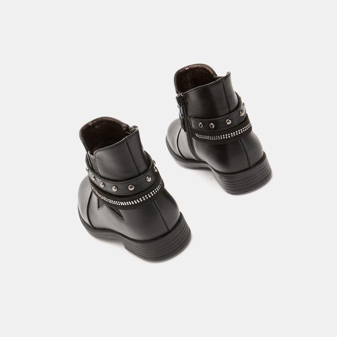BOTTINES ENFANT mini-b, Noir, 291-6206 - 19