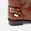 Bottes en cuir véritable bata, Brun, 594-3308 - 26