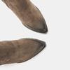 Bottes texanes en suédine bata, Brun, 793-4587 - 17