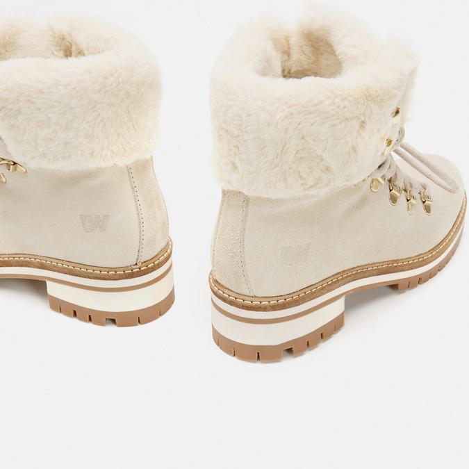 Rangers en cuir weinbrenner, Blanc, 593-1196 - 15