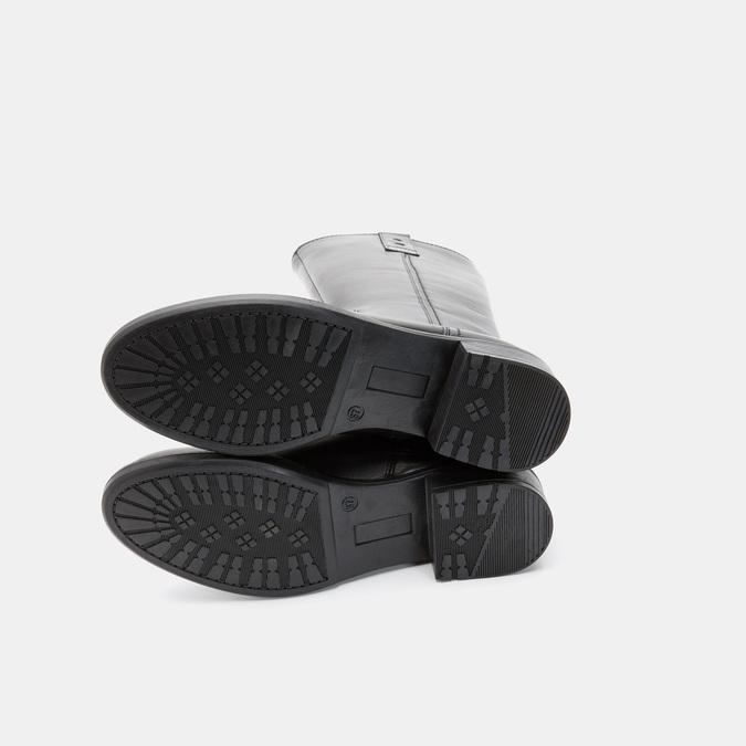 Bottes en cuir bata, Noir, 594-6373 - 19