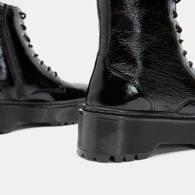 Bottines bata, Noir, 598-6105 - 26