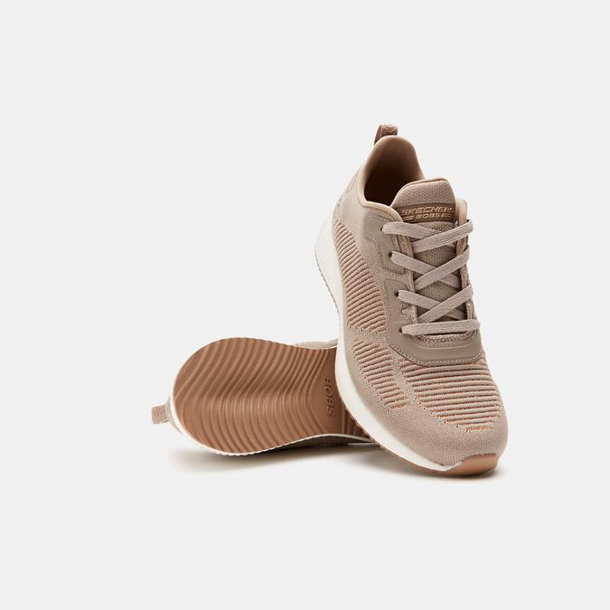 Chaussures Femme skechers, Beige, 509-3122 - 15