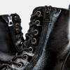 bottines en cuir vernis femme bata, Noir, 598-6107 - 15