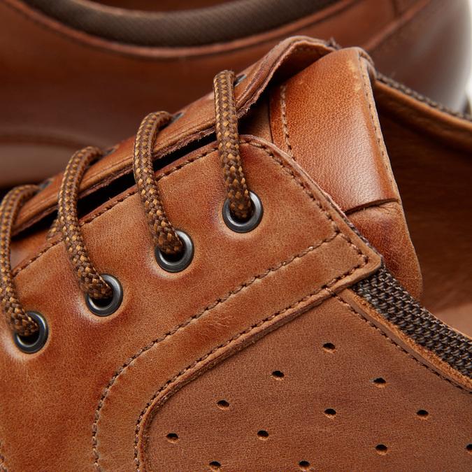 Chaussures à lacets homme flexible, Brun, 824-4780 - 26