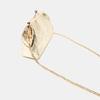 Pochette en cuir bata, Or, 964-8306 - 16