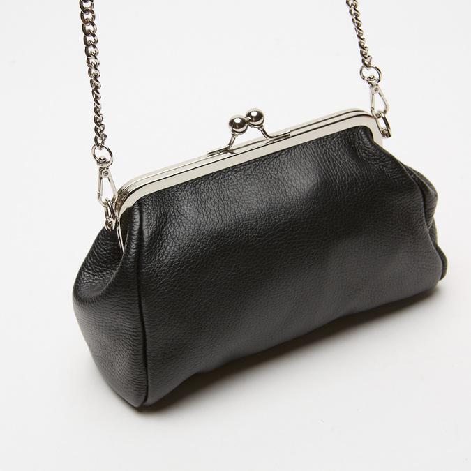 Pochette en cuir bata, Noir, 964-6306 - 16
