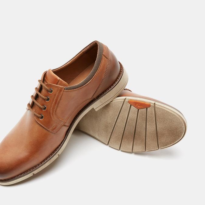Chaussures à lacets homme flexible, Brun, 824-4780 - 15