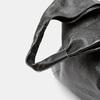 Sac  hobo en cuir bata, Noir, 964-6355 - 26