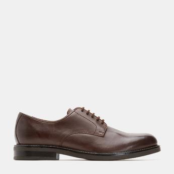chaussures basses en cuir homme bata, Brun, 824-4264 - 13