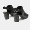Sandales à dessus perforé bata, Noir, 761-6267 - 17