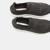 Baskets Knit femme bata, Noir, 539-6115 - 19