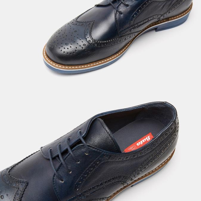 Chaussures à lacets homme bata-rl, Bleu, 824-9132 - 19